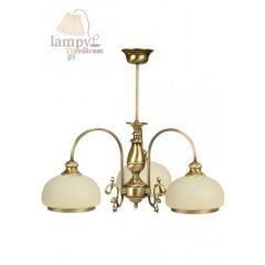 Lampa żyrandol 3 płom. Wezyr 0176/JP3 SOLAR