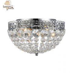 Lampa plafon 2 płomienny IP21 SAXHOLM chrom Markslojd 106062