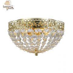 Flame ceiling lamp IP21 SAXHOLM gold Markslojd 106063