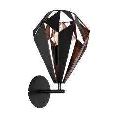 Carlton 1 wall lamp 20.5x33.0 EGLO 49992