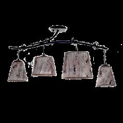 ANCO Lampa plafon z abażurem 4 płom.  HPLampy A4P