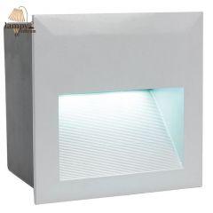 Lampa oprawa do wbudowania ZIMBA LED kwadrat IP65 EGLO 95235