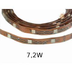 Taśma LED 7,2W IP67 standard line w osłonie z koszulki - różne kolory W024-100-11-03