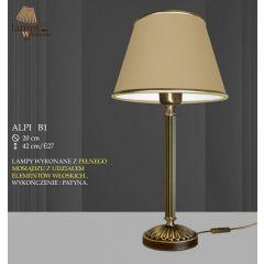 Lampa nocna Alpi P B1 abażur ICARO