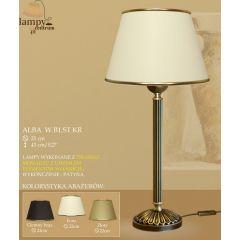 Lampa nocna Alba P B1 WB1 ST. rozeta ICARO