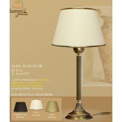 Lampa nocna Alba P B1 WA1 ST. liście ICARO