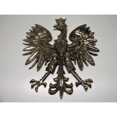 EAGLE EMBLEM 22 cm Brass