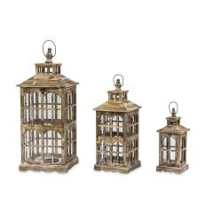 Wooden Lantern Set 76631
