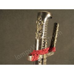 Polish Hussar saber from the first half XVII century with scabbard - replica