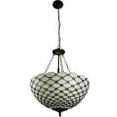 Stained glass lamp 83956