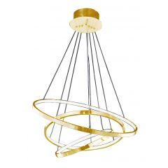 Wheel 3 Dimm hanging LED lamp Azzardo AZ2918 gold