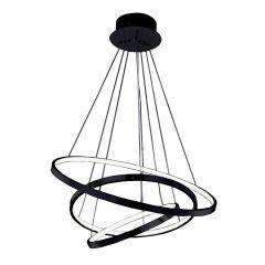 Wheel 3 Dimm hanging LED lamp black Azzardo AZ2920