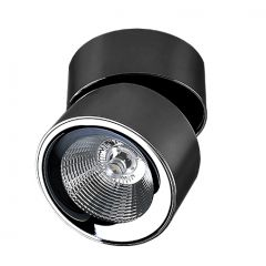 Scorpio surface-mounted LED black Azzardo AZ2952