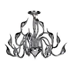 Swan 18 hanging lamp chrome Italux MX8098-18A / CH
