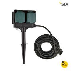 Gniazdo ogrodowe 14.5cm czarny IP44 Spotline 1000877