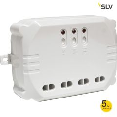 Radioodbiornik 3-kanałowy CONTROL BY TRUST 3500W biały IP20 Spotline 470803
