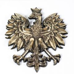 The largest Eagle, Polish Emblem 42cm weight 5.95kg Brass - school court office office office