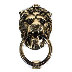 LEW door knocker mane, with bell function Brass