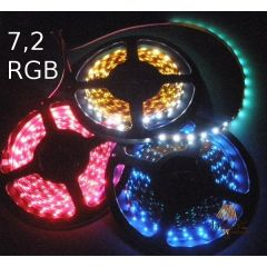 LED strip 7.2W standard line - RGB multicolour 024-100-10-3 RGB
