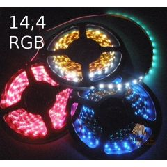 LED strip 14,4W - RGB multicolour 024-050-10-3 RGB