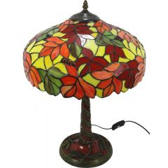 Stained glass lamp 89967