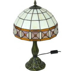 Stained glass lamp 97269