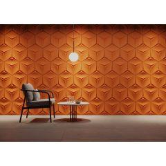 Panel dekoracyjny Hexagon Leaf