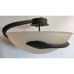 Lampa plafon 3 płom. PERS kuty czarny E27
