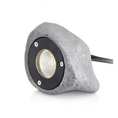 GARDEN24 Spot Outdoor stone fitting LED 3W IP44 gray MARKSLOAD 107286