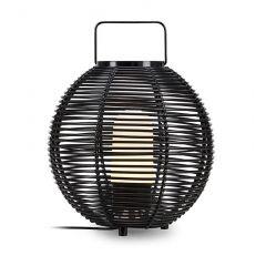 SAGE Outdoor floor lamp, 1 flame black IP44 MARKSLOAD 107980