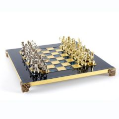 Exclusive Archers metal chess pieces; 28x28cm, S15 GiftDeco