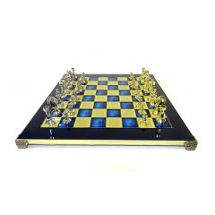 Exclusive, large, large classic metal chess Stauton S34; GiftDeco 36x36cm