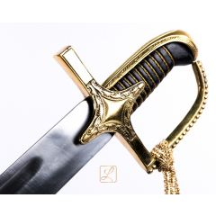 Polish Husaria saber 1750 in smooth version. A place for your dedication!