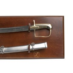 POLISH SABER SAMPLE model 21/22 WITH SCABBARD + HANGING TABLO - replica