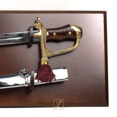 Polish saber wz. 34 with scabbard + tablo, a proven gift