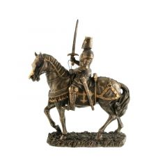 Rycerz na koniu z mieczem - Figurka Veronese WU71116A4