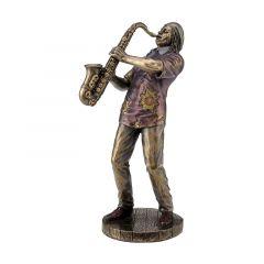 Muzyk jazzowy saksofonista - Figurka Ve