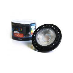 Żarówka LED 15W 4300K ES111 GU10 ściemnialna czarna AZ1876